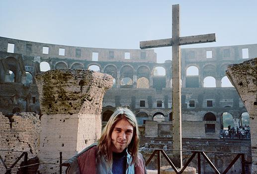 Kurt Cobain Nirvana Book At Rocking Gods House