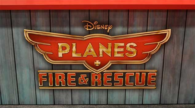 Planes Fire And Rescue Movie At Rocking Gods House