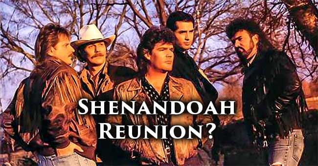 Shenandoah Reunion At Rocking Gods House?
