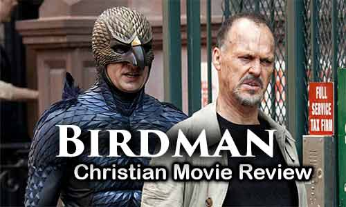 Michael Keaton Birdman At Rocking Gods House