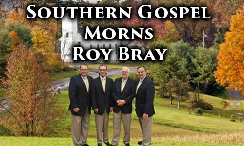 Roy Bray of The Southmen Quartet At Rocking Gods House