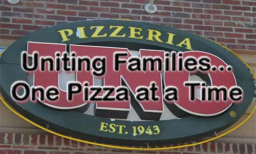 Uno Pizza - Uniting Families One Pizza At A Time At Rocking Gods House