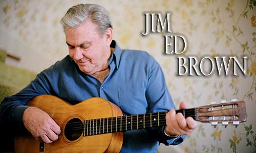 Jim Ed Brown Interview At Rocking Gods House
