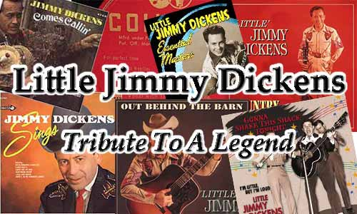 Little Jimmy Dickens Tribute At Rocking Gods House