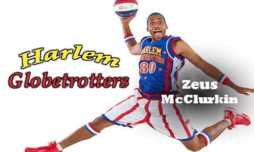 Harlem Globetrotters Basketball Star Shares His Inspiring Story