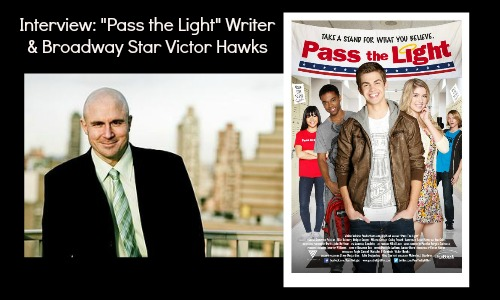 Victor Hawks Pass the Light Writer and Broadway Star -- Interview at Rocking God's House