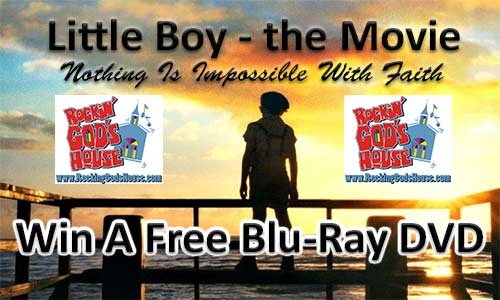 Little Boy Blu Ray DVD Giveaway At Rocking Gods House