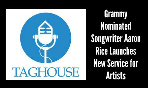 Grammy Nominated Songwriter Aaron Rice Launches Service for Artists