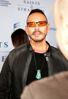 Saints & Strangers Red Carpet Premier - Raoul Trujillo - photo credit Gerald Pierre 2015 for Rocking God's House