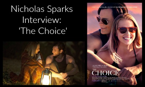Nicholas Sparks Interview with Rocking God's House about The Choice