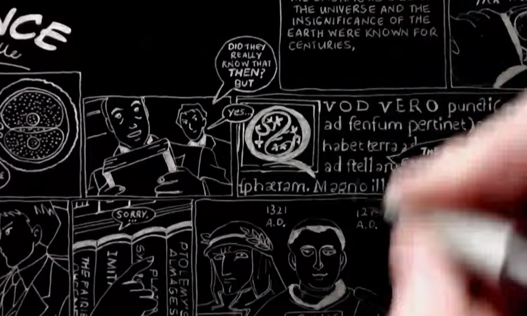 C. S. Lewis Talks Religion and Science–in Doodle Form (Video)