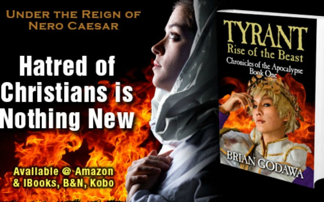 New Novel 'Tyrant' Brings Plight of Early Christians, Terrifying Reign of Nero to Vivid Life