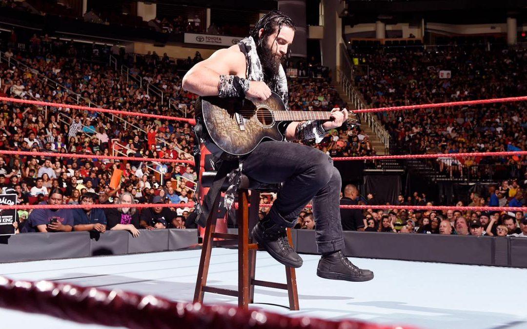 WWE Superstar Elias Samson Talks Music, Nashville, Wrestling and Monday Night RAW