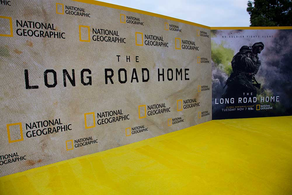 National Geographic's 'The Long Road Home' Red Carpet Premiere & Exclusive Interviews with the Cast and Soldiers